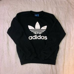 Adidas crewneck sweatshirt with pockets